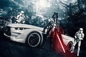 bmw stormtrooper by vilner previews star wars episode vii