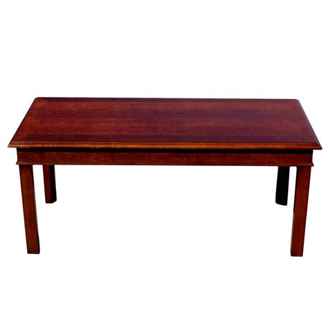 Mid Century Modern Coffee Tables 42 Quot Mid Century Modern Hickory Wood Coffee Table Ebay