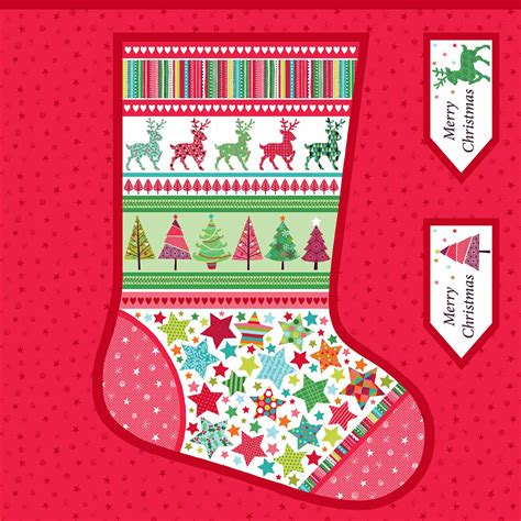 sewing christmas stocking kits giant festive christmas stocking sewing kit overdale