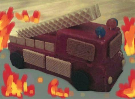 kuchen feuerwehrauto die besten 17 ideen zu feuerwehrauto kuchen auf