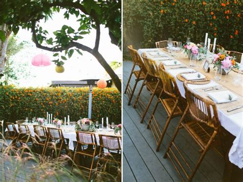 Backyard Setup Ideas by Throw A Festive Summer Brunch2014 Interior Design 2014