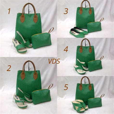 Tas Paket 4in1 Tas Sepatu Jamtangan Dompet 2 skyjewel shop not just another shop