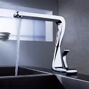 contemporary solid brass kitchen tap chrome finish n2096