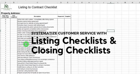 Real Estate Training Materials For Agents By Brian Icenhower Transaction Coordinator Checklist Template