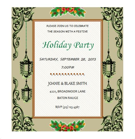 birthday invitations templates free for word 50 microsoft invitation templates free sles