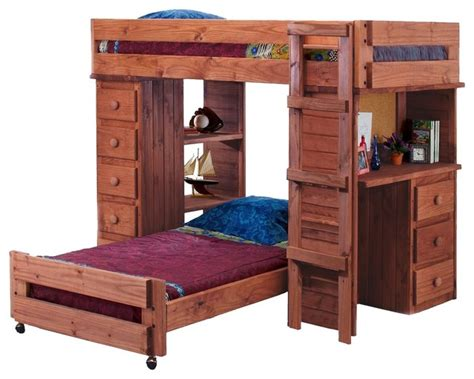 Wooden Bed Knobs by Henderson Student Loft Bed Mahogany