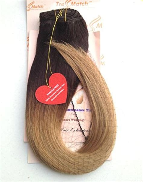 tressmatch hair extensions tressmatch 195 194 20 22 thick to ends clip in remy remi
