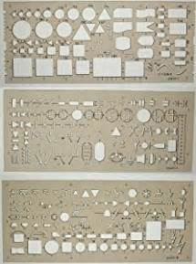 Electrical Symbol Template by Set Of 3 Electro Templates Ca Office Products