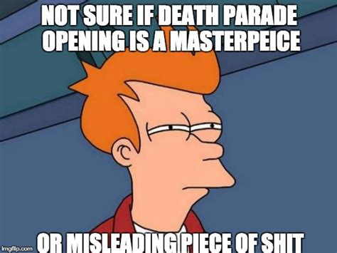 Parade Meme - death parade funny memes pictures to pin on pinterest