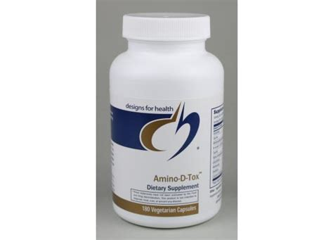Amino Detox by Designs For Health Amino D Tox Liver Detox Supplements Amt180