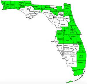 how many counties are in florida pictures to pin on