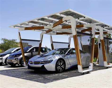 autounterstände carports bmw designworksusa bmw i solar carport freshness mag