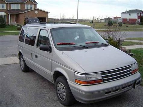 1994 chrysler dodge plymouth town amp country caravan and