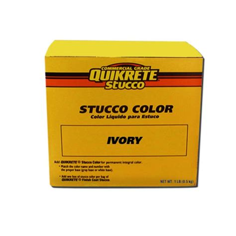 quikrete 14 oz ivory stucco color 230507 the home depot