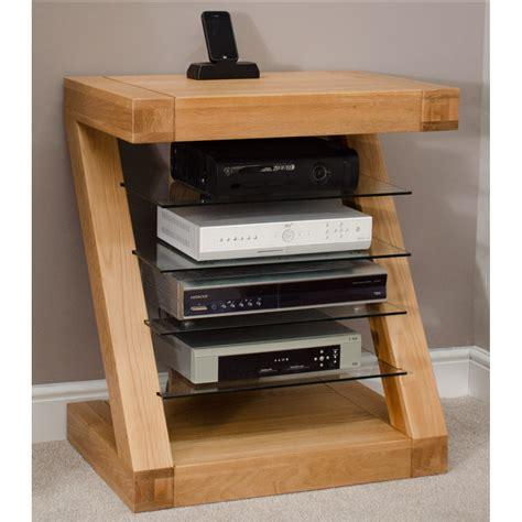 Hi Furniture by Z Solid Oak Designer Furniture Hi Fi Cabinet