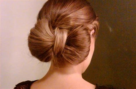 Bow Hairstyles by Wedding Hairstyle How To Bow Bun Updo Onewed