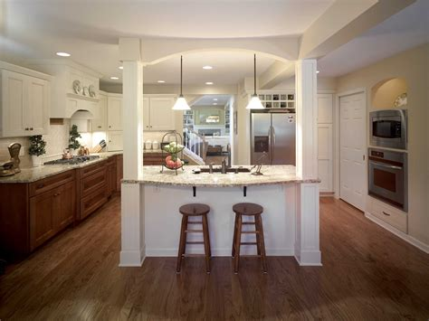kitchen islands with posts this exquisite kitchen features an island with two paneled