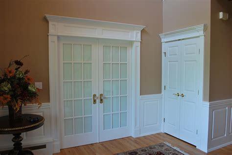 Raised Panel Trim Integrate Window And Door Trim With Wainscoting Panels