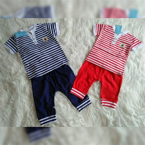 Dress Anak Baju Anak Salur Salur set salur import firni grosir supplier baju anak