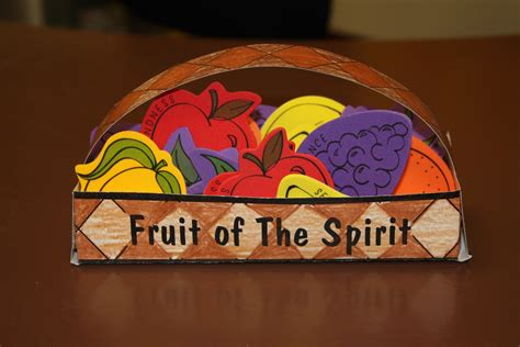 fruit of the spirit crafts for on bible november 2010