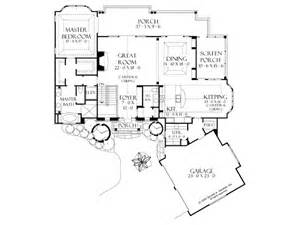 One Level House Plans With Basement by Eplans Craftsman House Plan Craftsman Walkout Basement