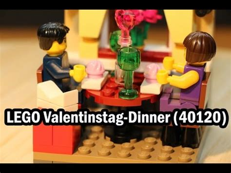 Lego Seasonal S Day Dinner 40120 lego valentinstag dinner set 40120 im test review seasonal s day dinner