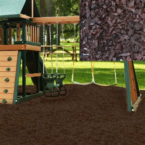 Rubber Mulch For Playground Calculator by Playground Recycled Rubber Mulch Choclate Brown