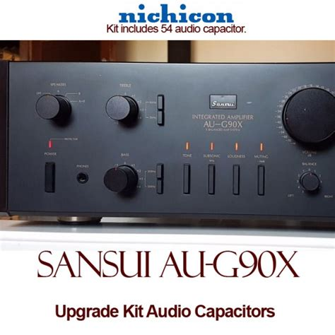 best audio capacitor sansui au g90x upgrade kit audio capacitors