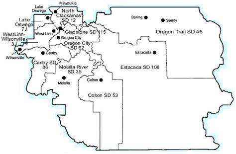 clackamas county services clackamas esd clackamas county district map