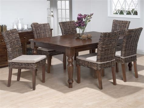 wicker dining room sets italian dining room sets dining