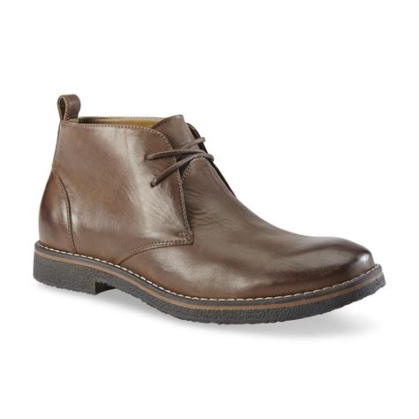 gbx s milford leather chukka boot brown shoes
