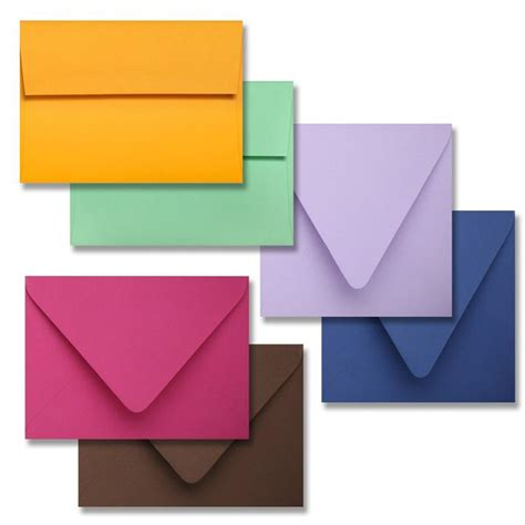 color envelopes colorplan a7 5 25 quot x 7 25 quot envelopes 44 different colors 91