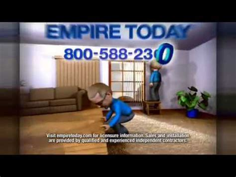 empire today 50 50 50 biggest carpet and flooring sale tv commercial youtube
