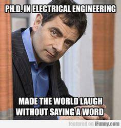 Electrical Engineering Meme - mensen zijn photoshopping mr bean in dingen en het is nog grappiger dan het origineel for