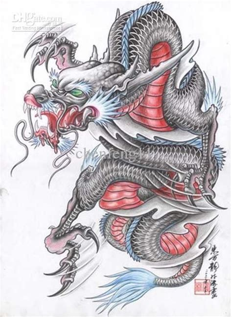 traditional chinese tattoo 17 best images about dragons on