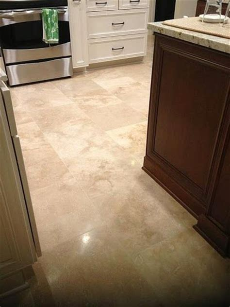 travertine kitchen floors and backsplash tile on pinterest
