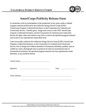 publicity release form template publicity release form fill printable fillable