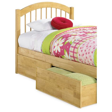 raised twin bed windsor twin bed w raised panel footboard and storage