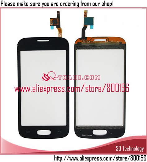 Touchscreen Samsung S7262 S7260 Galaxy Plus for samsung for galaxy pro s7262 s7260 touch screen digitizer black white in decals from
