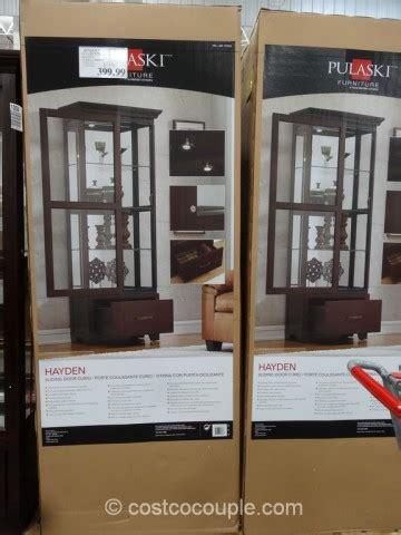 pulaski curio costco pulaski curio cabinets costco warehouse ask home design