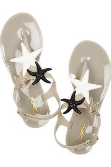 starfish rubber st yves laurent starry rubber sandals sumally サマリー
