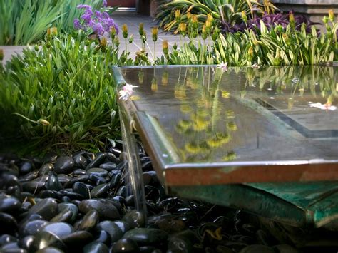zen water garden photo page hgtv