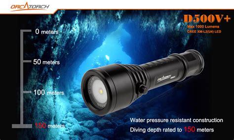orca torch dive light d500v dive light orca torch