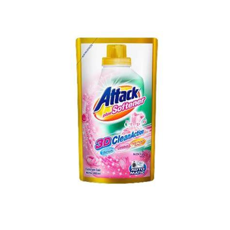 Attack Softener attack liquid plus softener pouch 800ml
