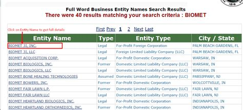 Records Filing For New Business Entity New Business Entity Filing New Jersey Pdf