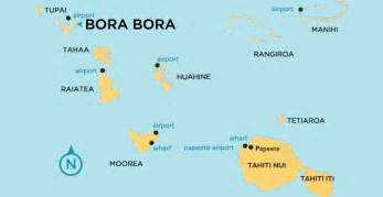Bora Bora World Map by Bora Bora Map