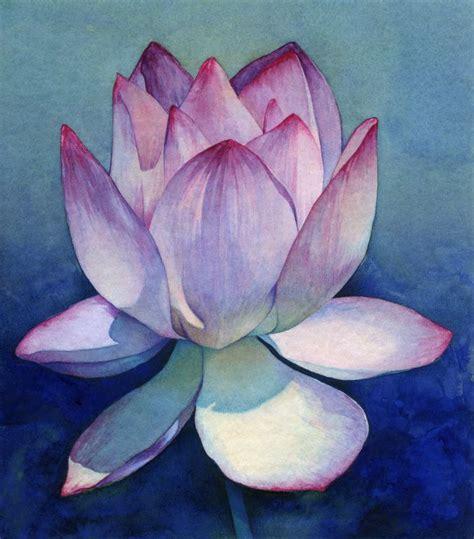 watercolor lotus tutorial best 25 lotus flower paintings ideas on pinterest lotus