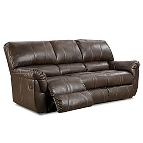 view simmons 174 bucaneer cocoa reclining sofa deals at big lots