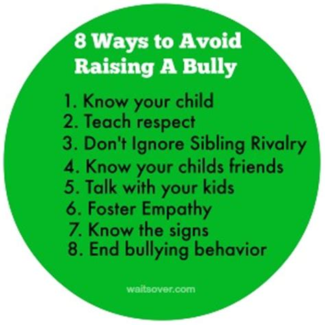 8 Ways To Tell If Your Child Is In Bad Company by 8 Ways To Avoid Raising A Bully The Wait Is