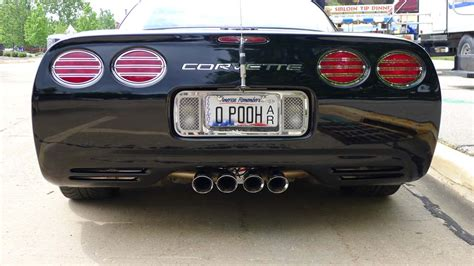 Vanity Plates by The Corvette Vanity Plates Of Bloomington Gold 2013